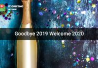 Bye 2019 Welcome 2020 Images