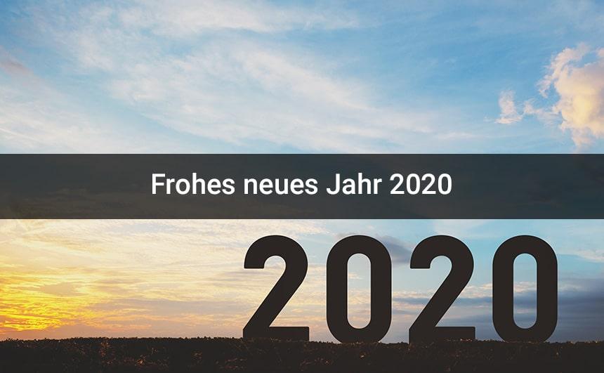 Frohes Neues Jahr 2020 Bilder & Hintergrundbilder