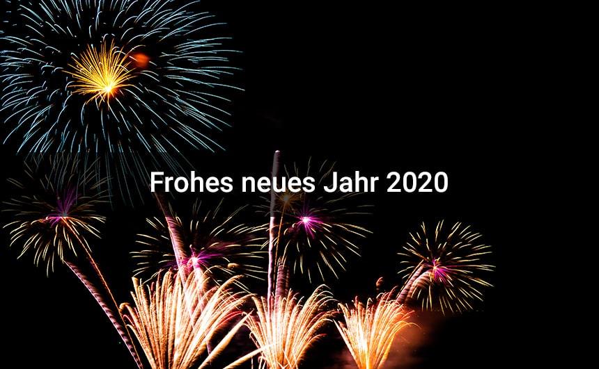 Frohes Neues Jahr 2020 Bilder