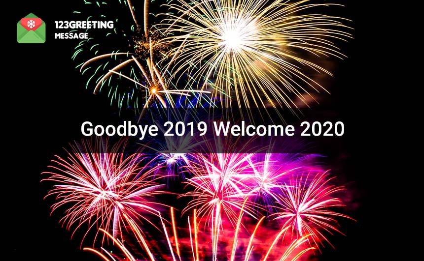 Goodbye 2019 Welcome 2020 Images for Whatsapp