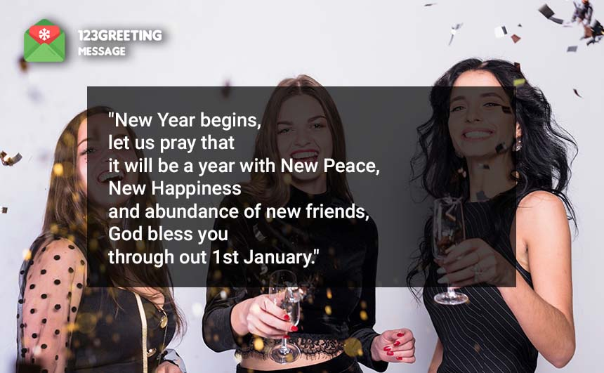 Happy 1st January Quotes & Greetings