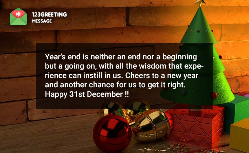 Happy 31st December Wishes 2019