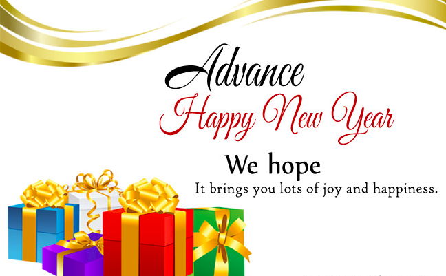 Happy New Year 2019 Advance Wishes