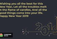 Happy New Year 2019 Everyone Images