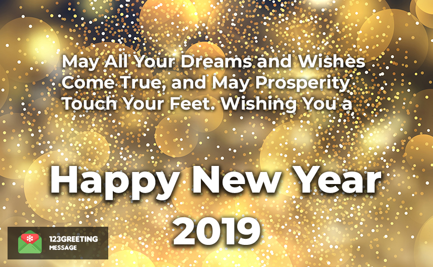Happy New Year 2020 Everyone Wishes