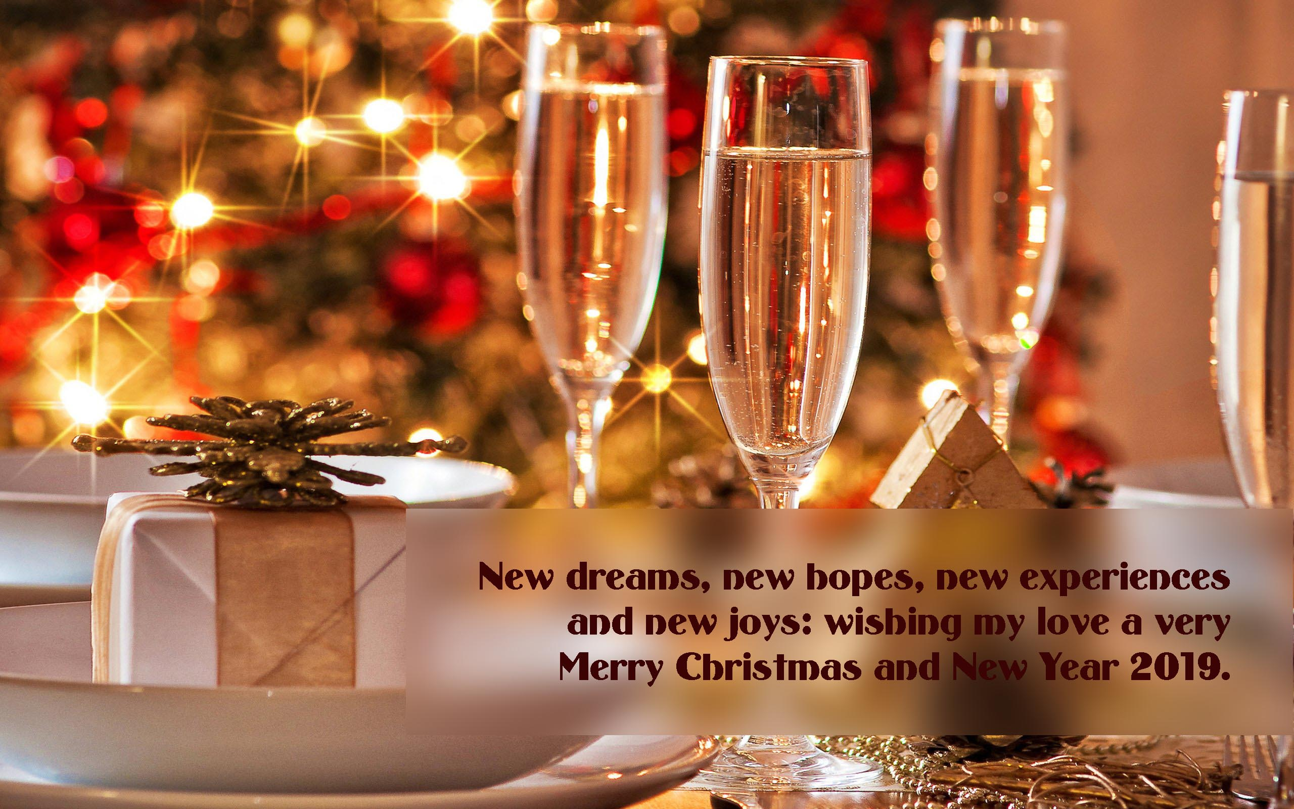 Happy New Year 2019 Wishes & Greetings for Husband & Hubby
