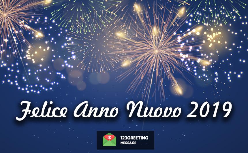 Happy New Year 2019 Wishes in Italian
