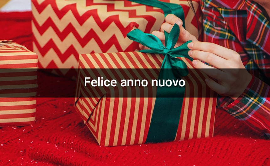 Happy New Year 2020 Greetings in Italian