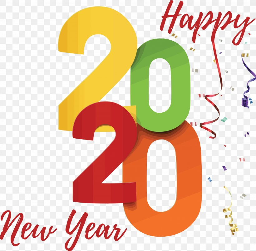 Happy New Year 2020 Stickers for Whatsapp