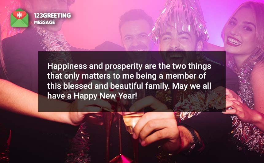 Happy New Year Images for Family