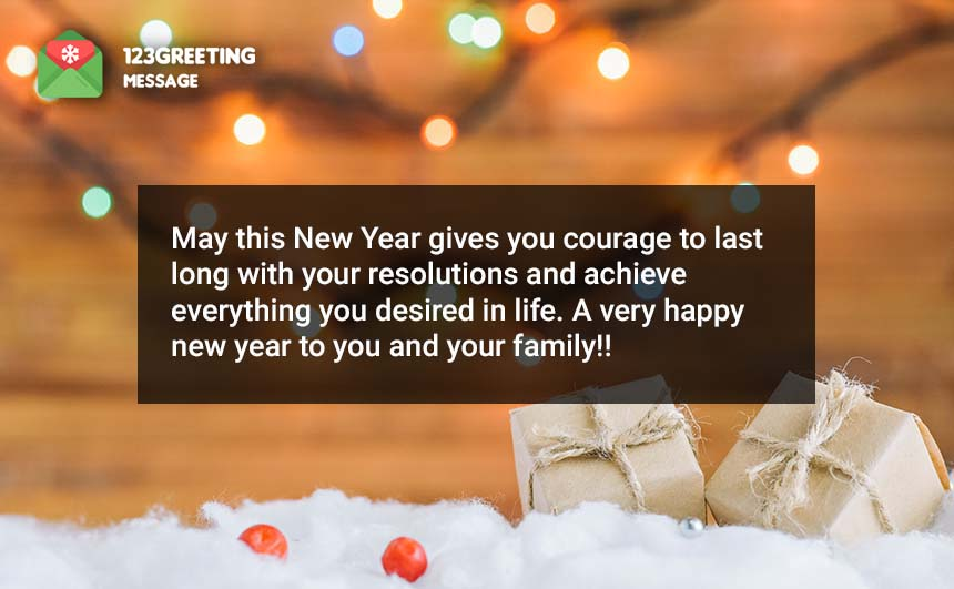 Happy New Year Quotes for Friends & Family