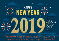 Happy New Year Short Line & Texts 2019