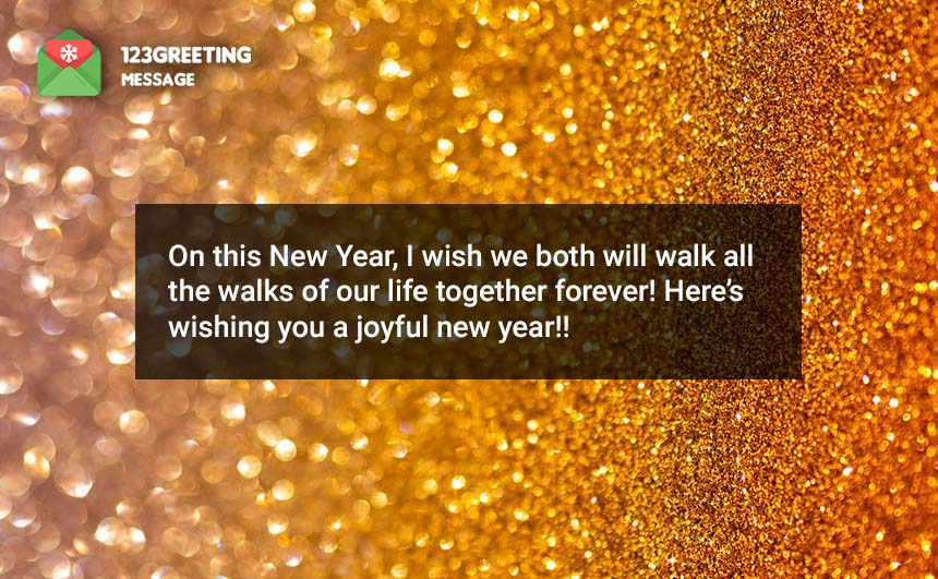 Happy New Year Wishes For Brother & Sister