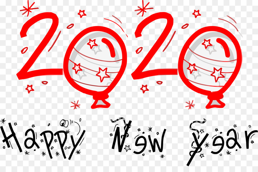 New Year Whatsapp Sticker