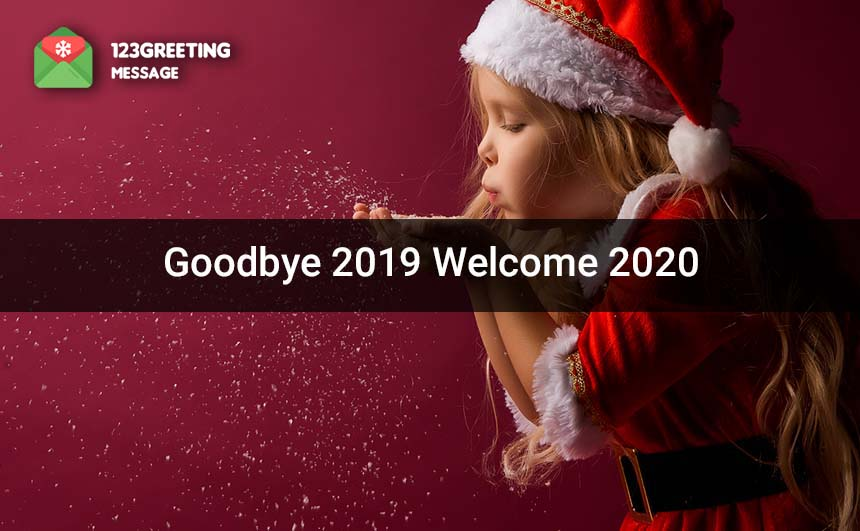 Welcome 2020 Images for Whatsapp