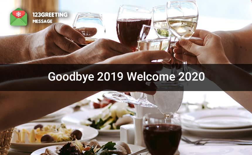 Welcome 2020 Whatsapp DP