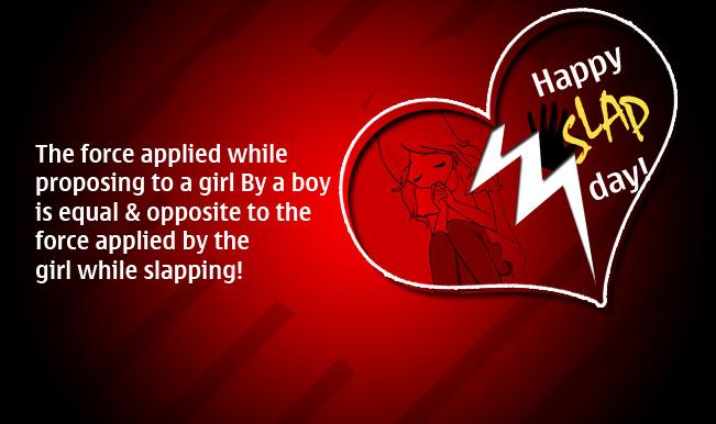 Happy Slap Day Wishes