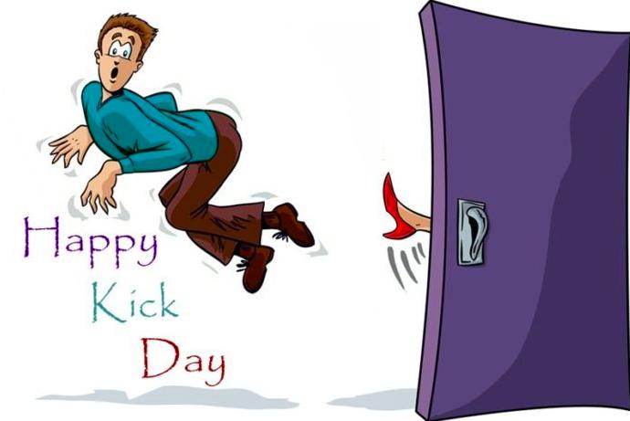 Kick Day Wishes