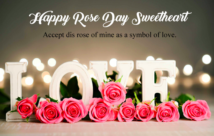Rose Day Status for Wife & Husband 2019