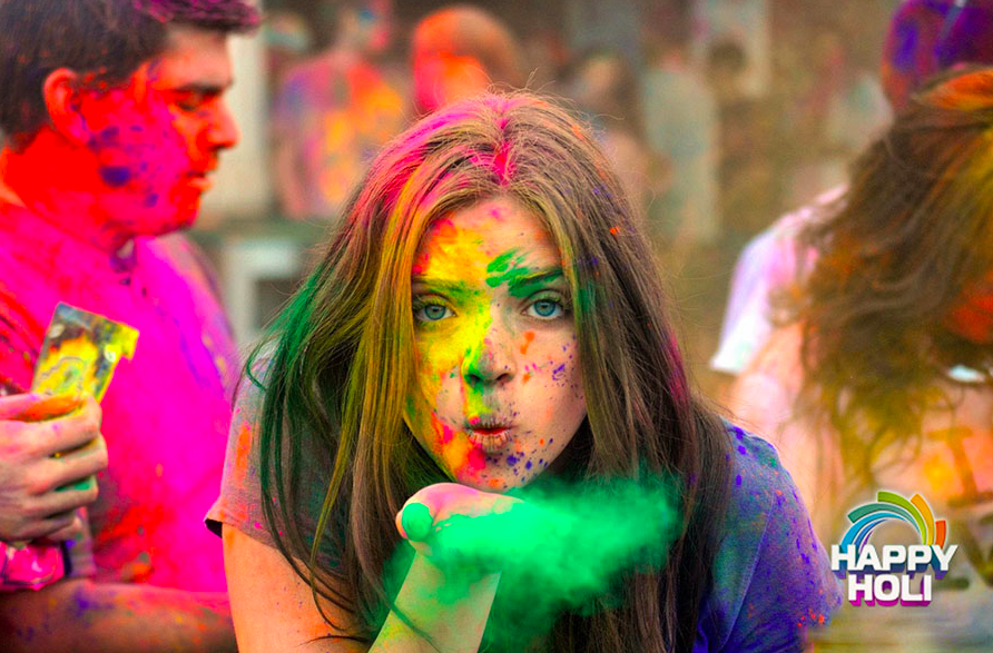 Colorful Happy Holi Images