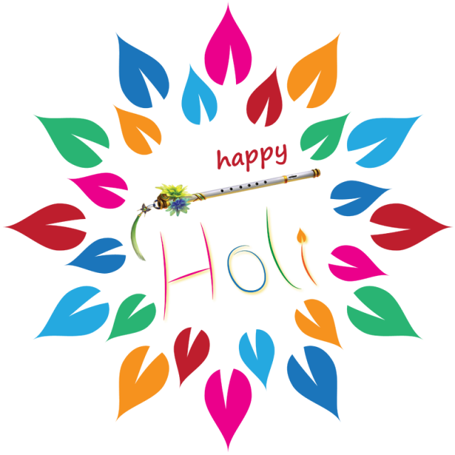 Happy Holi Stickers