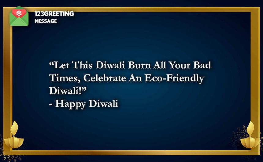 Eco Friendly Diwali 2021 Slogans