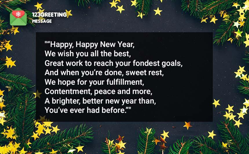 Happy New Year 2020 Poems