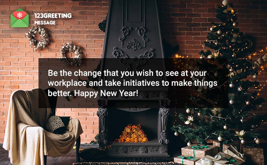 Happy New Year Wishes for Corporate