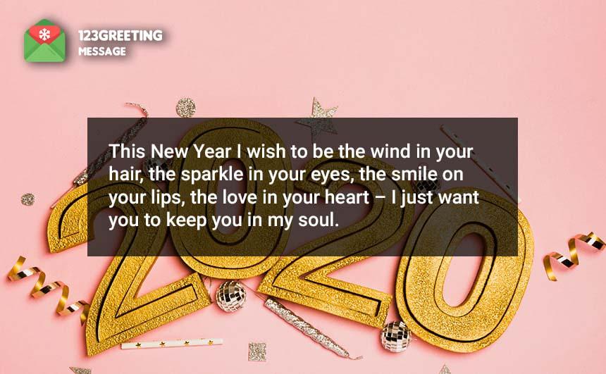 New Year Status for Crush & Fiance