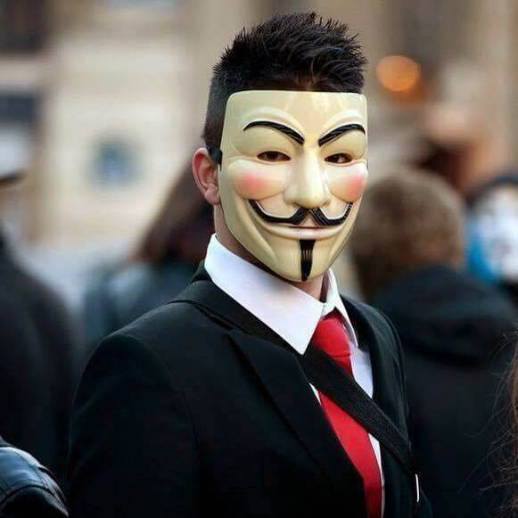 Anonymous Mask DP for Boys