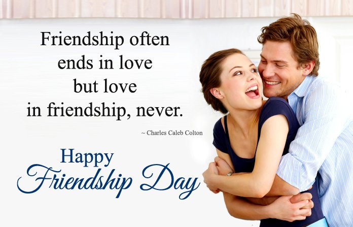 Friendship Day Love Quotes for Lovers