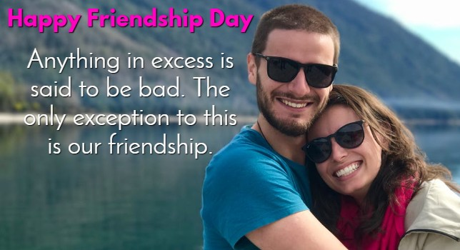Friendship Day Wishes for Wife & Husband