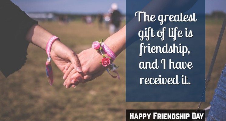 Happy Friendship Day Wishes for Crush & Fiance