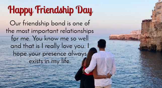 Happy Friendship Day Wishes for Lovers
