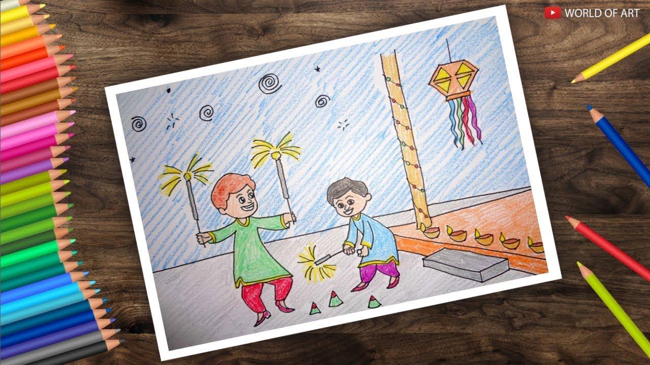 Diwali Paintings 2021