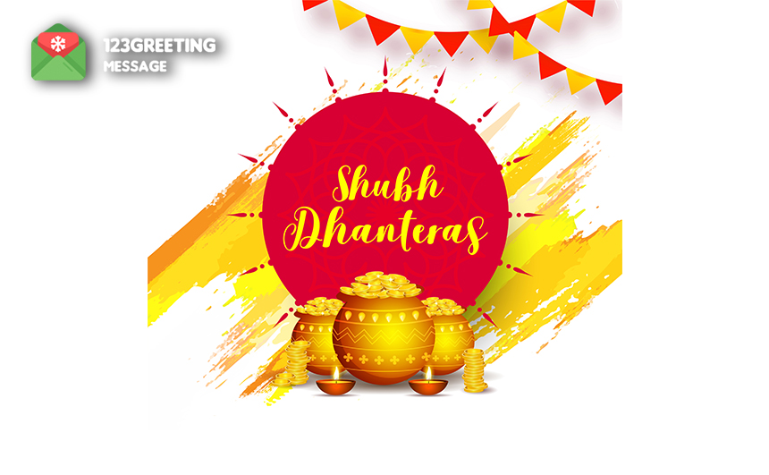Happy Dhanteras Images for Friends & Family