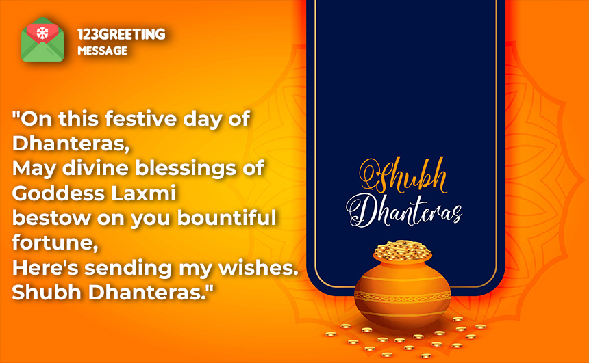 Happy Dhanteras Wishes for Girlfriend, Boyfriend & Lovers