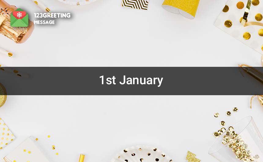 1st January