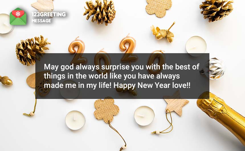 Wishing you a very Happy New year 2020 Images